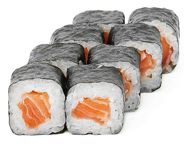 Подарунковий Хосомакі з свіжим лососем